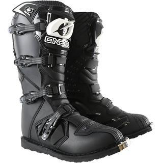 black boots atv apparel