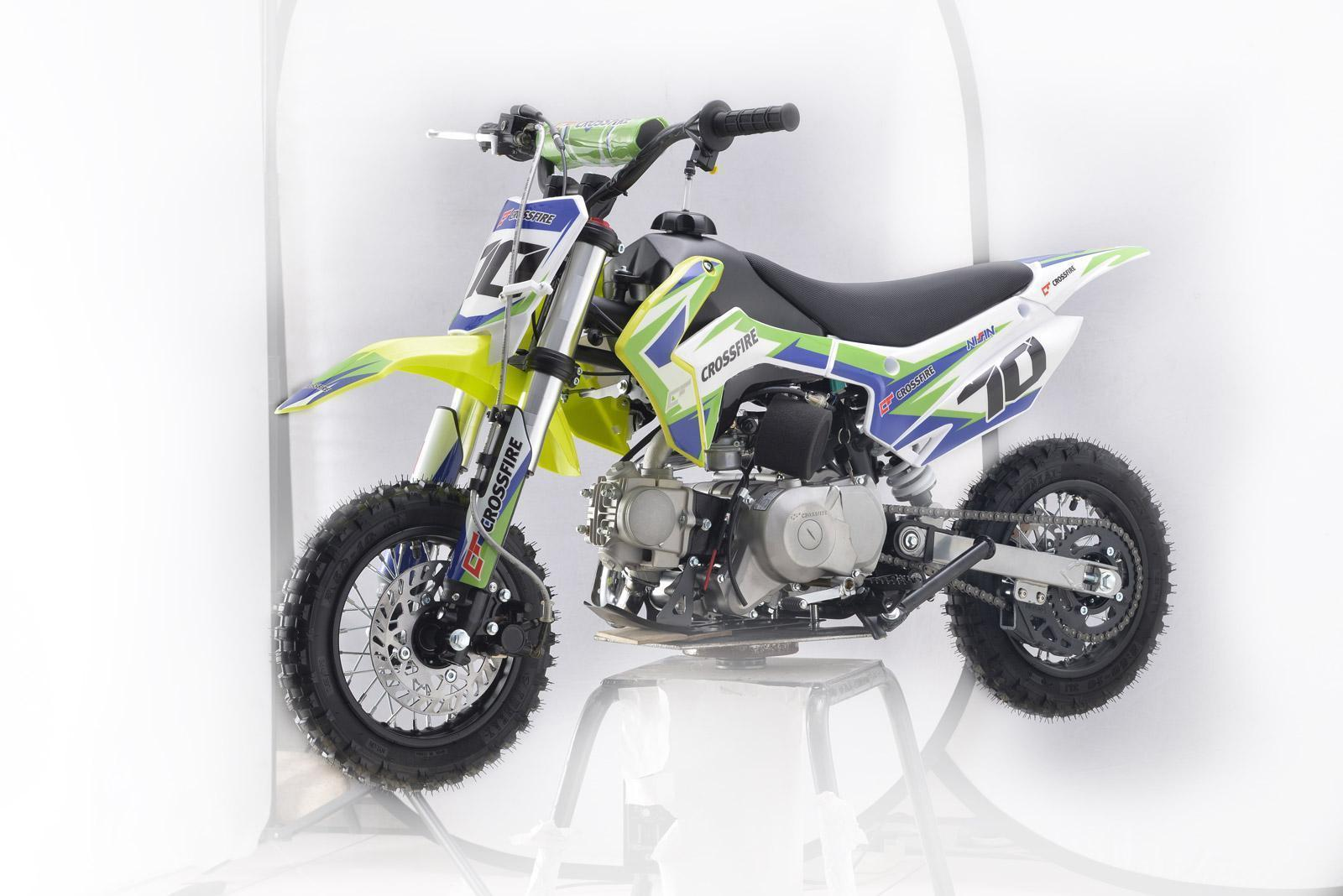 ALL NEW 2020 Crossfire CF70-2020 Green - dirt bikes store dalby