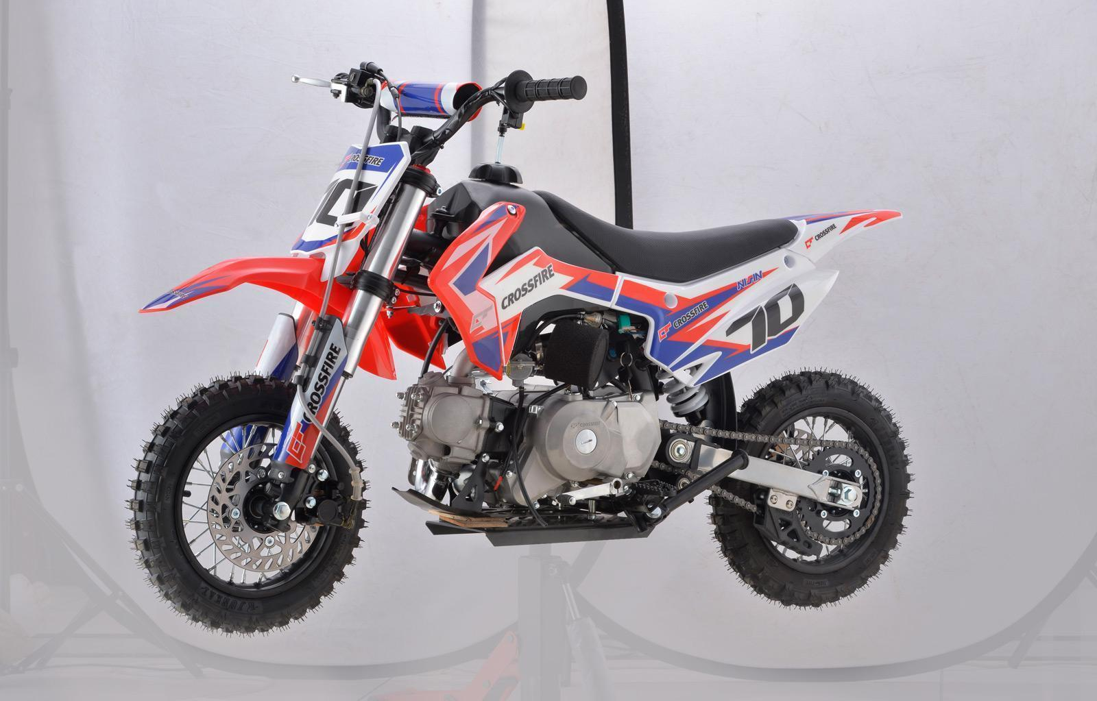 ALL NEW 2020 Crossfire CF70-2020 RED - dirt bikes store dalby