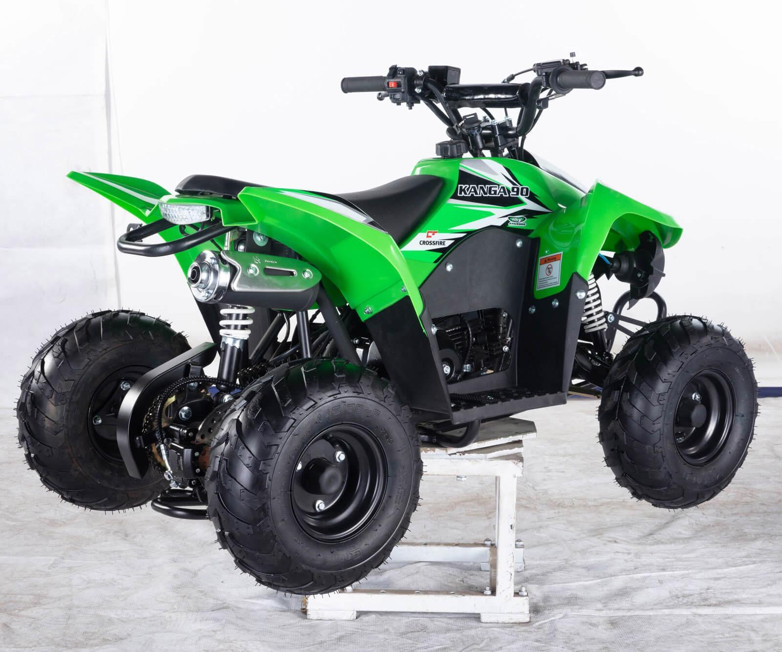 ALL NEW 2020 Crossfire Kanga 90-2020 ATV Green Back right - quad bikes store toowoomba