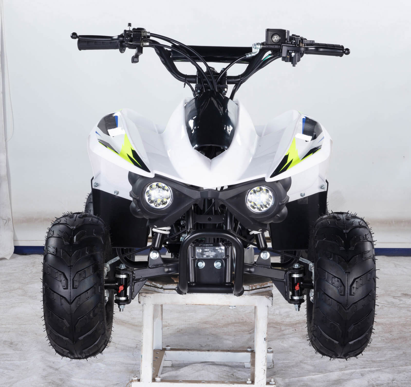 ALL NEW 2020 Crossfire Kanga 90-2020 ATV White Front - quad bikes store toowoomba