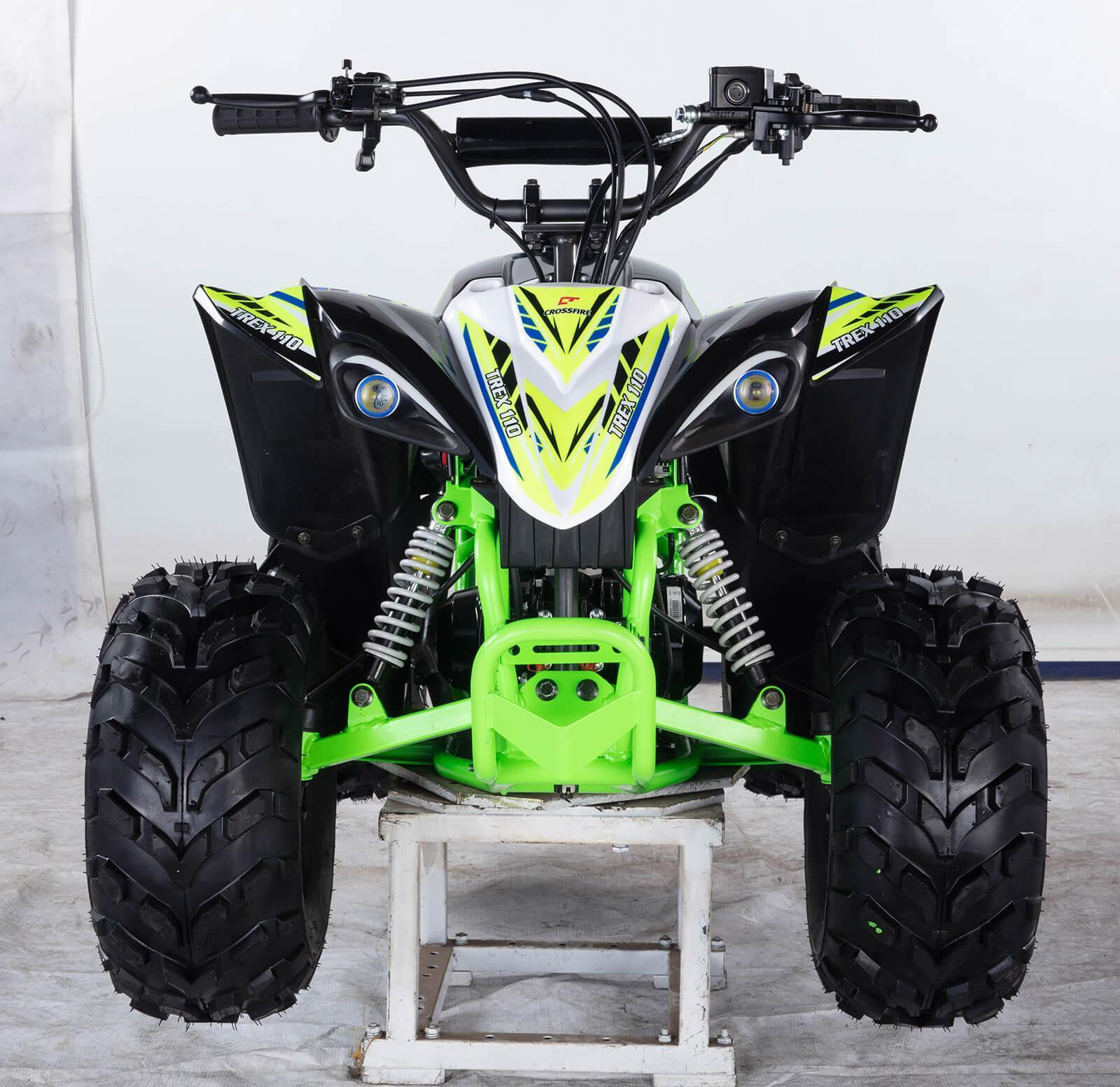 ALL NEW 2020 Kanga Trex 110-2020 ATV Black Front - quad bikes store dalby
