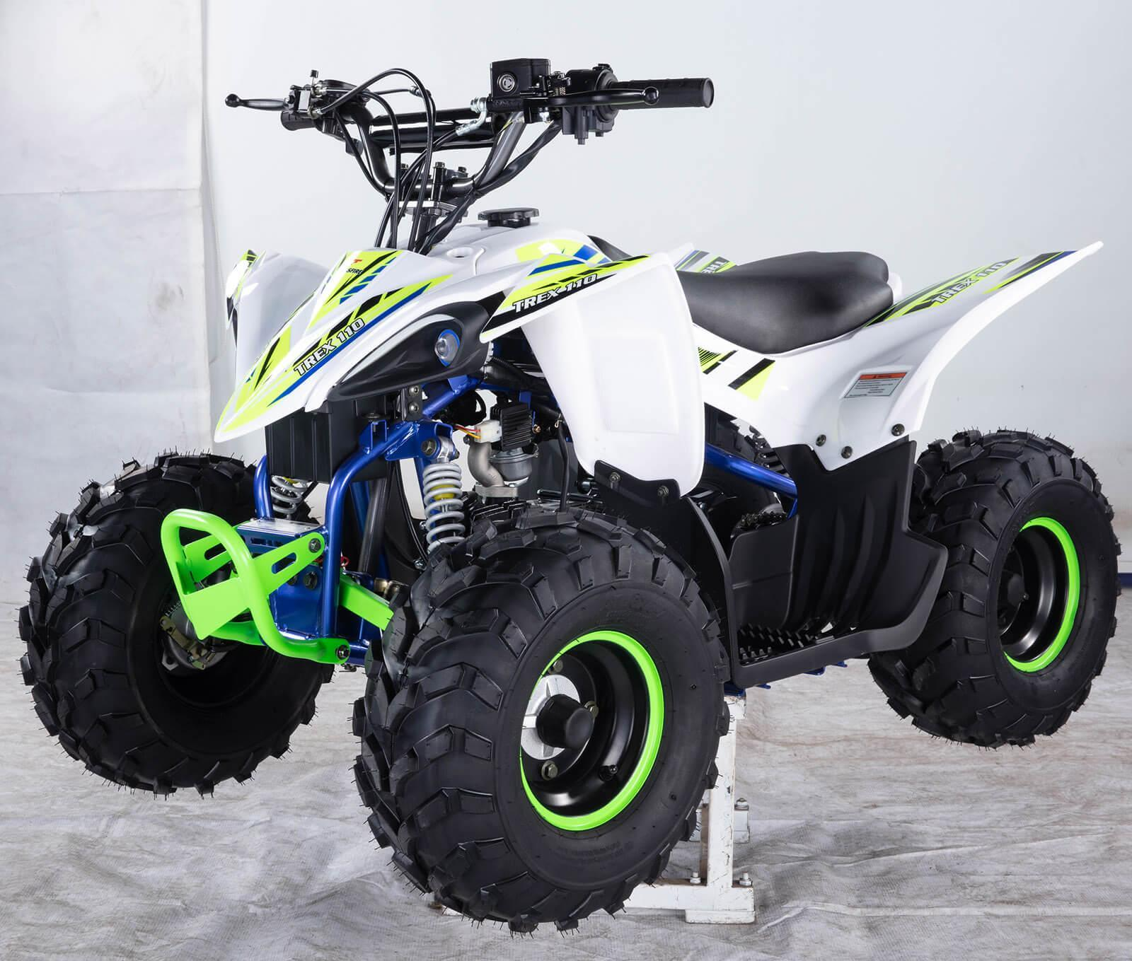 ALL NEW 2020 Kanga Trex 110-2020 ATV White Alt Front Left - quad bikes store dalby