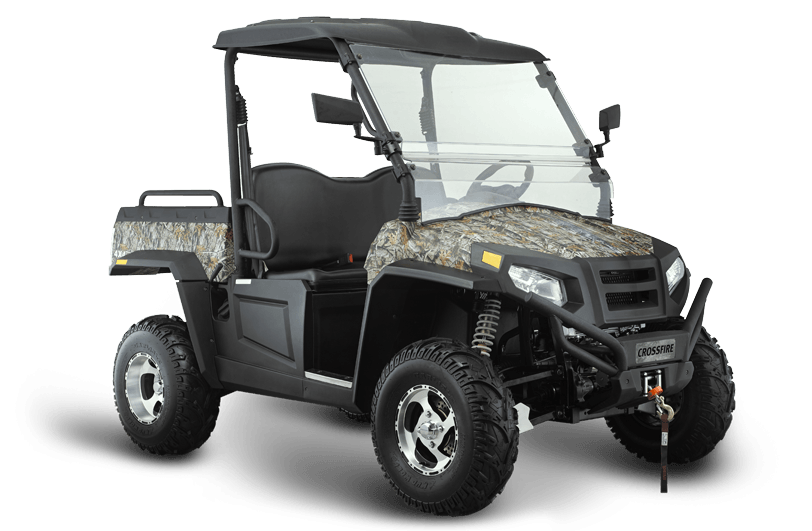 Crossfire 500GT Main - side by side atv warwick