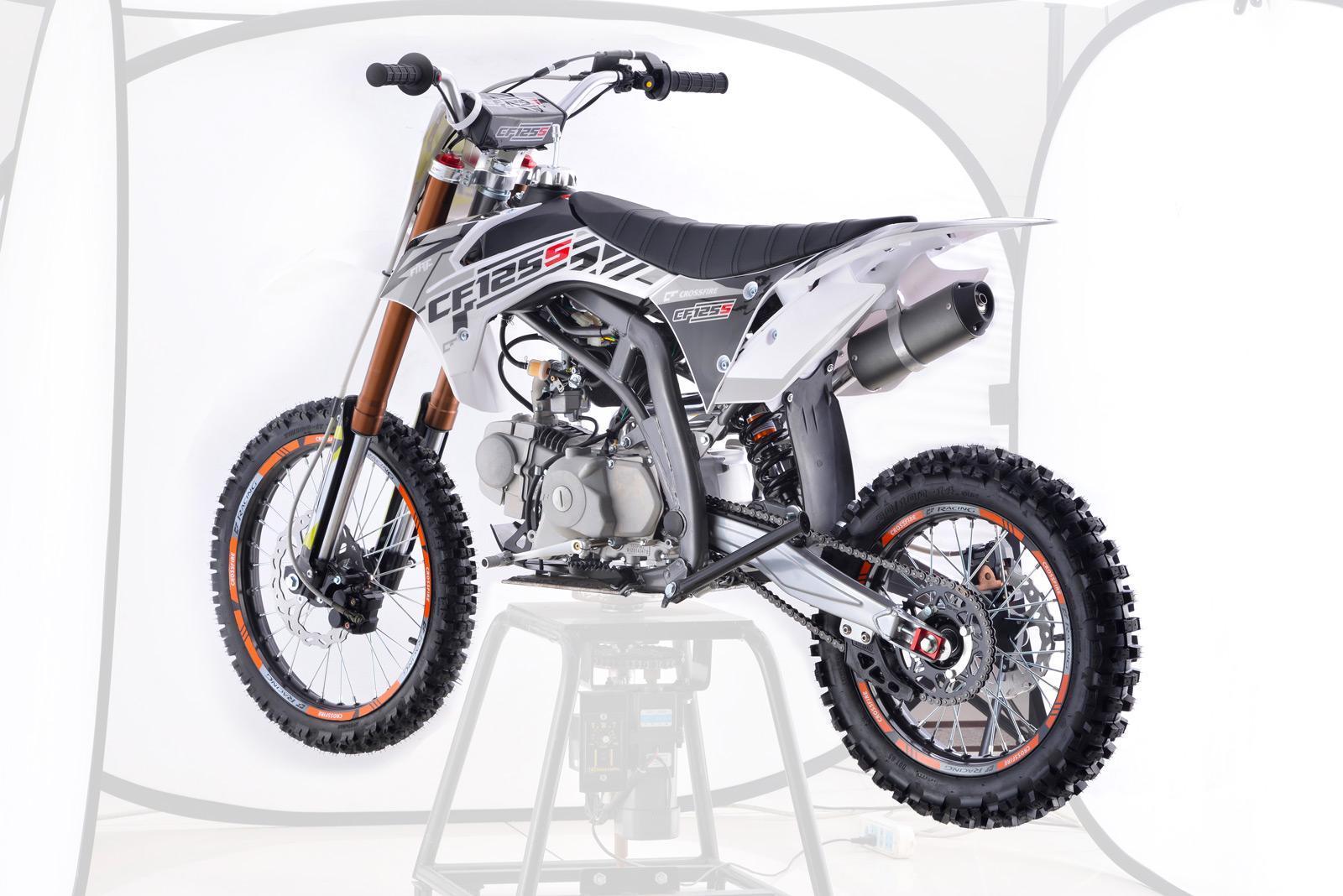 Crossfire CF125S Motorbike White - dirt bikes store lockyer valley