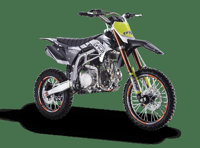 Crossfire CF140 Black Front Main - dirt bikes store toowoomba