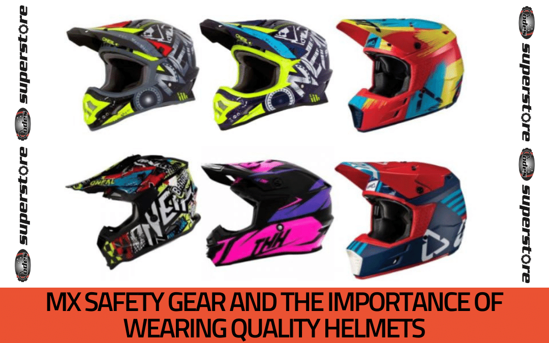 MX Safety Gear and the Importance of Wearing Quality Helmets
